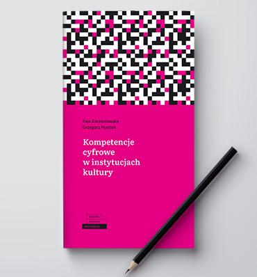 Wzorzysta okładka publikacji, na niej ołówek
