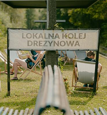 Lokalna Kolej Drezynowa (fot. Klaudyna Schubert)