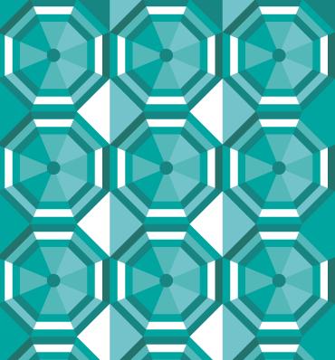 Kolorowy wzór jak w kalejdoskopie