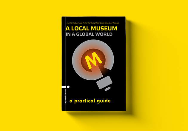 book cover with illustration of a bulb with M letter inside