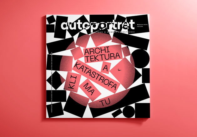 okładka magazynu Autoportret - architektura akatastrofa klimatu
