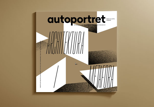 Autoportret magazine cover - Architektura metafora issue