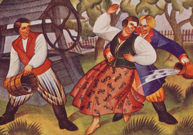 Fragment obrazu Wacława Boratyńskiego